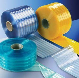 反静的な標準明確なプラスチックストリップのカーテン