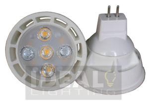 LED-Punkt 5X1w MR16 Gu5.3 ersetzen Halogen 40W