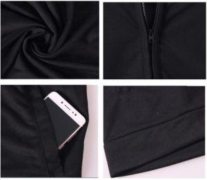 OEM 주문 겨울 최신 디자인 소매 없는 스포츠 재킷을 달리는 가득 차있는 Zip 운동 체조