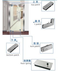 Parte inferior da Conexão de patches com Insira as molas de piso Patch Porta Inferior