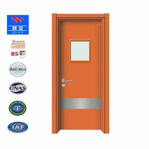 高品質の病院水証拠の内部ドアHPL木ドア