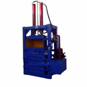 Empacadora de chatarra vertical se utiliza para los residuos plásticos Máquina de prensa de balas de papel