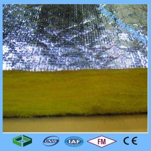 De Raad van de Glaswol van de Isolatie van de hitte met de Folie van het Aluminium