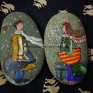 De Steen van de Kiezelsteen van de Verf van de Klomp van de Kerstman als Gift van Kerstmis
