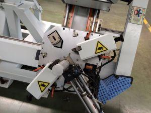 Automatischer Vertikale CNC vier Punkt-Eckquetschverbindenmaschinen-Aluminiumfenster