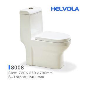 Banho de loiça sanitária Loiça Wc P-acumular água Closet Closestool acessórios de banho um pedaço S-Trap lavabo 1