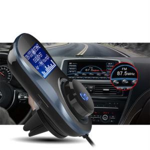 普及したデザインハンズフリー無線Bluetooth MP3プレーヤーのステレオの音声FMの送信機のBluetooth車キットBluetooth