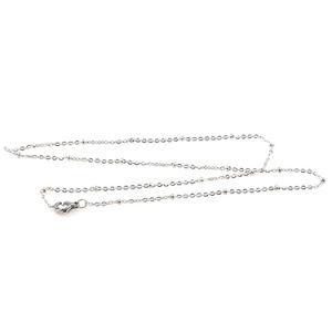 Catena a maglia rotonda all'ingrosso poco costosa dell'acciaio inossidabile in monili che fanno la catena del braccialetto per le donne