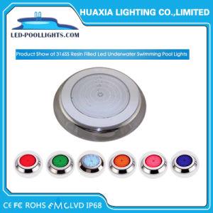 IP68 indicatore luminoso subacqueo dell'indicatore luminoso LED della piscina montato superficie dell'acciaio inossidabile LED