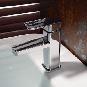 高品質のブラシのニッケルの真鍮の浴室の洗面器のミキサー