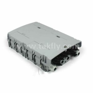 8 of port fiber Optical fragment box for 5mm drop Cable in FTTX Communication network system
