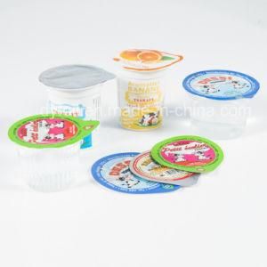 De afgedrukte Deksels van de Aluminiumfolie voor Verzegelen van de Kop van de Yoghurt het Plastic