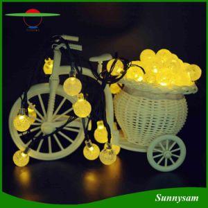 20/30/50bulle LED Ball Shape chaîne solaire lumière lumière décoratifs de Noël