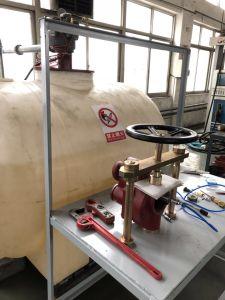 Bomba sumergible rojo Motor monofásico de longitud estándar