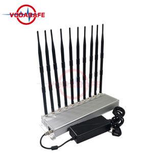 10 هوائي جهاز تشويش/معوّق لأنّ [سلّفون] /Wi-Fi/ [أوهف/فهف] [ولكي-تلكي] تغطية شعاع [10-40م]