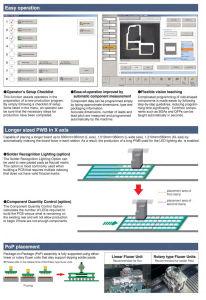 Juki SMT Pickおよび場所Machine Ke3010/Chip Mounter