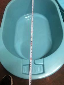使用された赤ん坊のWashtub型秒針のプラスチック腰湯の注入型