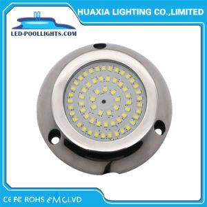 8W 12V LEDの表面は満ちていた樹脂が付いているプールライトを取付けた