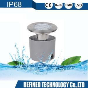 IP68 3in1 de alta potencia en Color RGB de acero inoxidable 316L LED empotrado bajo el agua de la luz de la piscina