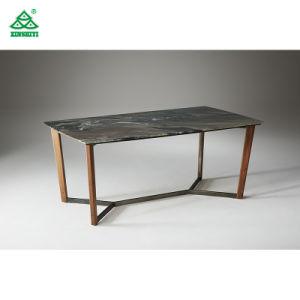 Encimera de mármol Simple moderna mesa de comedor del hotel para Muebles de Comedor