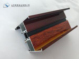 Profilo di alluminio di alluminio della finestra del portello dei blocchi per grafici di portelli dell'espulsione