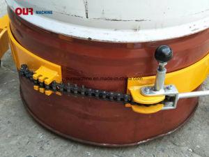 450kg Rüstete sich Vertikal-Anheben hydraulische Trommel-Kipper mit Handmanuell Umdrehung aus