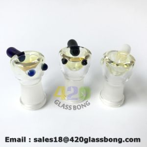 Hembra mayorista tazón de vidrio botella lavagases tubos para fumar hierba/aceite/hierba