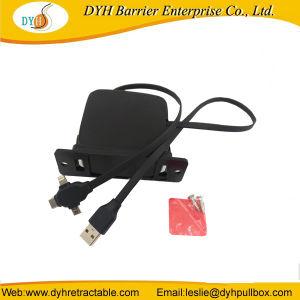 Новые поступления в стену втягивающийся кабель USB для мотовила