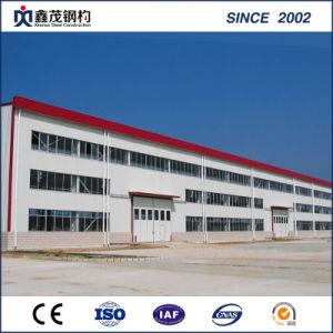 Structure en acier de construction préfabriqués personnalisés à des fins industrielles