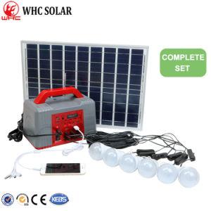 PV солнечной энергии питания 20W полный комплект системы солнечной энергии