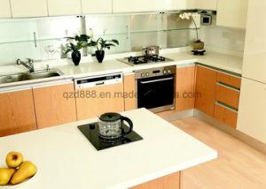 Твердая поверхность кухонном столе/столешницами для кухни белый полированным
