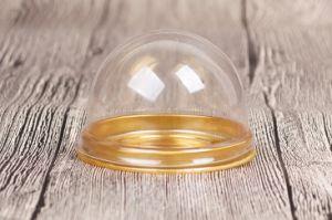 Kundenspezifisches Großhandelsfirmenzeichen gedruckte biodegradierbare runde Cup-Wegwerftortenschachtel