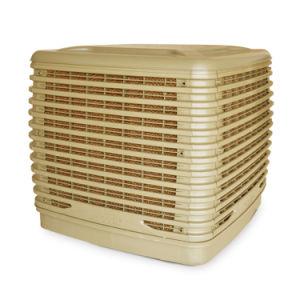 o fluxo de ar 22000m3/H descarrega para baixo o refrigerador de ar recarregável de uma água mais fresca de ar