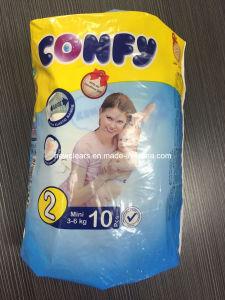 イラクの市場への使い捨て可能なConfyの赤ん坊のおむつ