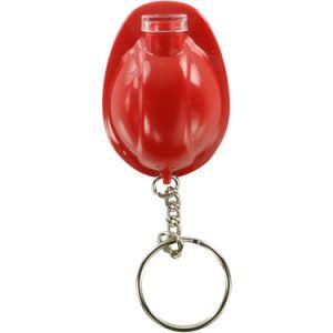 주문 단단한 플라스틱 LED 헬멧 Keychain LED 병따개 선전용 공짜