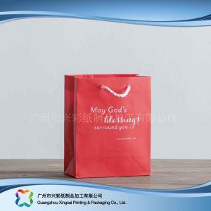 Le papier imprimé à l'Emballage Sac pour le shopping// cadeau des vêtements (XC-bgg-046)