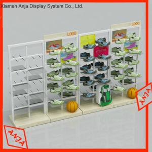 Simple Table attrayants de sabots de bois vitrine pour le Shopping Centre d'affichage