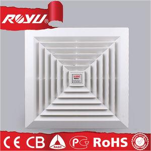 Faible bruit de haute qualité en plastique de mur pour la cuisine du ventilateur d'échappement