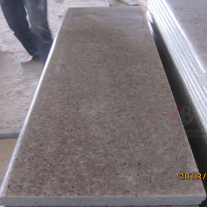 Mattonelle di pavimentazione Polished e fiammeggiate naturali del granito (G681 dentellare)