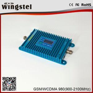 De hete Repeater van het Signaal Signall van de Band 900/2100MHz van de Verkoop Dubbele Hulp2g 3G voor Mobiel