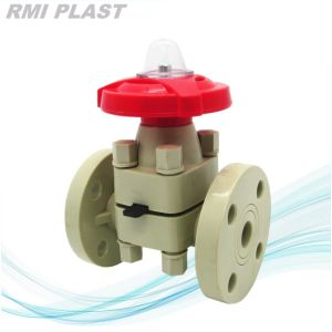 Valvola di plastica/valvola industriale/valvola a diaframma pneumatica