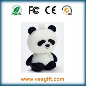 USB-ключ Panda ПВХ экологически безвредные пера USB USB-диск пера