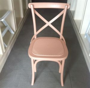 Wedding 홀을%s 수지 Cross Back Chair