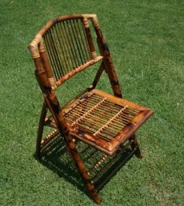 Folding Bamboo Chair (CF-62100)