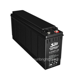 セリウムのRoHS ULとの前部Terminal Battery 12V105ah