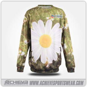 Camicia su ordinazione del maglione di sublimazione del poliestere