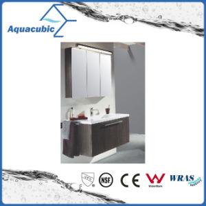 Badezimmer-Eitelkeit in der Schokolade mit keramischem Bassin im Weiß (ACF8936)