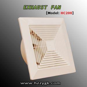 El humo de material ABS de buena calidad del ventilador de escape