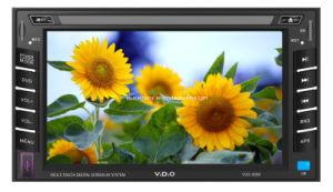 2 Giocatore-VDO 6008 dell'automobile DVD di BACCANO