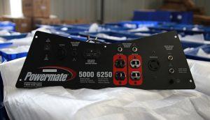 Panneau de génératrice modèle conçu et fabriqué pour générateur de Pramac Powermate